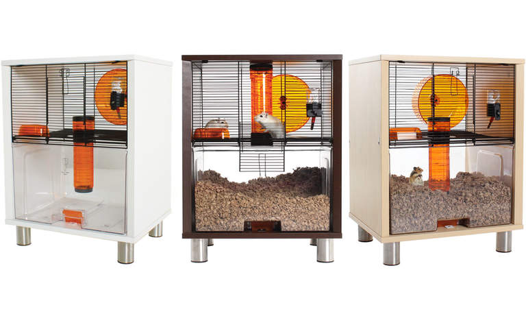 Qute Hamster and Gerbil Cage is available in three great colours